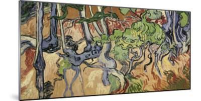 Tree Roots, 1890-Vincent van Gogh-Mounted Giclee Print