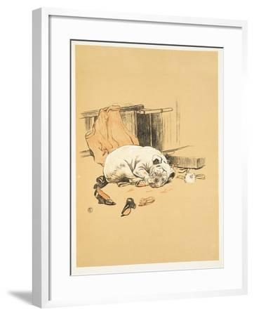 Not Finding the Chocolates, A Gay Dog, Story of a Foolish Year, Aldin, Cecil Charles Windsor-Cecil Aldin-Framed Giclee Print