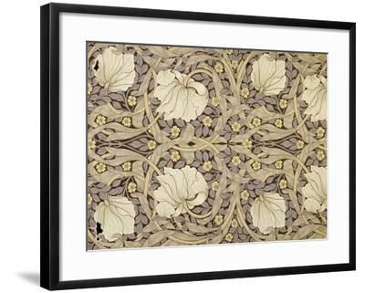 Pimpernell, Design For Wallpaper, Morris, William-William Morris-Framed Giclee Print