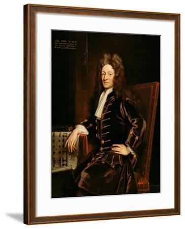 Portrait of Sir Christopher Wren-Godfrey Kneller-Framed Giclee Print