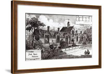 Park Road, Hampstead, from The Building News, 3rd September 1880--Framed Giclee Print