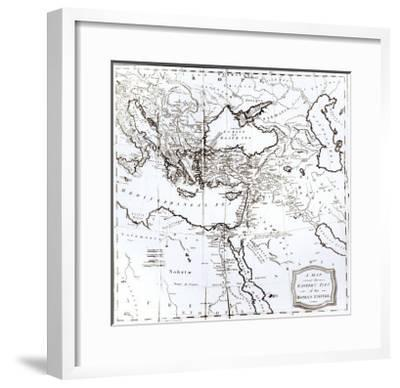 Map of the Eastern Part of the Roman Empire, c.1808--Framed Giclee Print