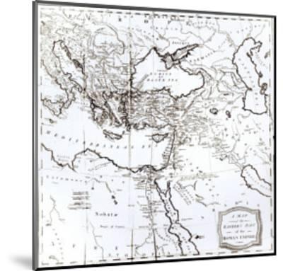 Map of the Eastern Part of the Roman Empire, c.1808--Mounted Giclee Print