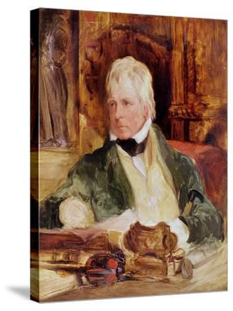 Portrait of Sir Walter Scott, c.1824-Edwin Henry Landseer-Stretched Canvas Print