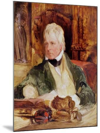 Portrait of Sir Walter Scott, c.1824-Edwin Henry Landseer-Mounted Giclee Print