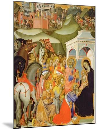 The Adoration of the Magi, c.1380-Also Manfredi De Battilori Bartolo Di Fredi-Mounted Giclee Print