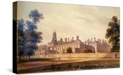 The South-West View of Kensington Palace, 1826-John Buckler-Stretched Canvas Print