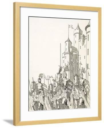 Great Quests: The Search For Camelot--Framed Giclee Print