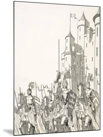Great Quests: The Search For Camelot--Mounted Giclee Print
