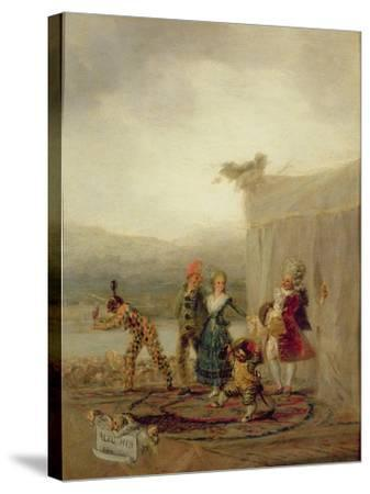 Strolling Players, 1793-Francisco de Goya-Stretched Canvas Print