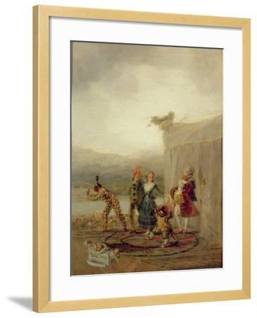 Strolling Players, 1793-Francisco de Goya-Framed Giclee Print