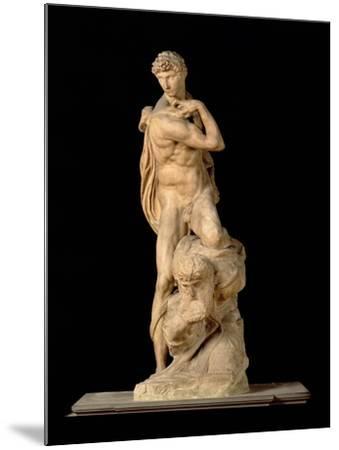 The Genius of Victory, 1532-34-Michelangelo Buonarroti-Mounted Giclee Print