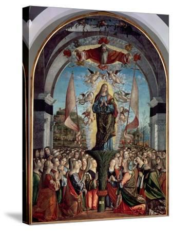 Glorification of St. Ursula and Her Companions-Vittore Carpaccio-Stretched Canvas Print