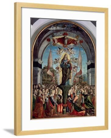 Glorification of St. Ursula and Her Companions-Vittore Carpaccio-Framed Giclee Print