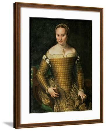 Portrait of the Artist's Mother, Bianca Ponzoni Anguisciola, 1557-Sofonisba Anguisciola-Framed Giclee Print