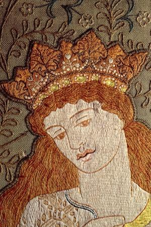 Illustration from Geoffrey Chaucer's Legend of Good Women, c.1875-William Morris-Stretched Canvas Print