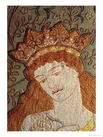 Illustration from Geoffrey Chaucer's Legend of Good Women, c.1875-William Morris-Giclee Print