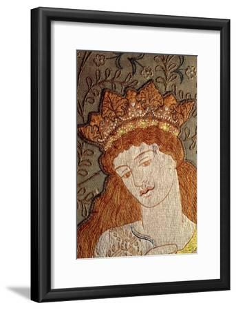 Illustration from Geoffrey Chaucer's Legend of Good Women, c.1875-William Morris-Framed Giclee Print