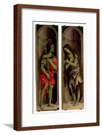St. John the Baptist and St. Mary Magdalene-Filippino Lippi-Framed Giclee Print