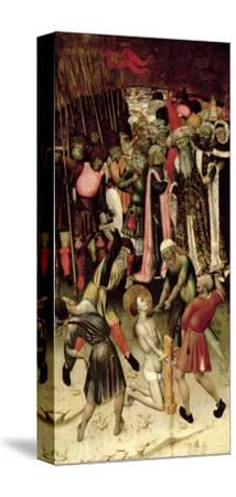 The Persecution of St. George. c.1435-Bernardo Martorell-Stretched Canvas Print