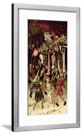 The Persecution of St. George. c.1435-Bernardo Martorell-Framed Giclee Print