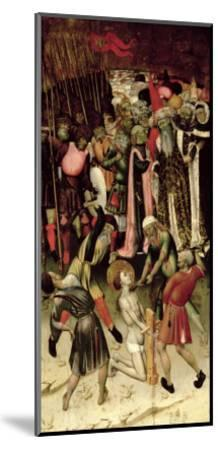 The Persecution of St. George. c.1435-Bernardo Martorell-Mounted Giclee Print