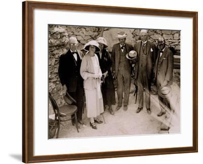 Howard Carter-Harry Burton-Framed Photographic Print