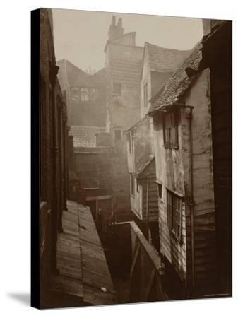 Cloth Fair, Smithfield c.1875-Peter Henry Emerson-Stretched Canvas Print