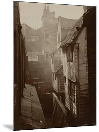 Cloth Fair, Smithfield c.1875-Peter Henry Emerson-Mounted Photographic Print