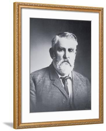 Charles Goodnight--Framed Photographic Print