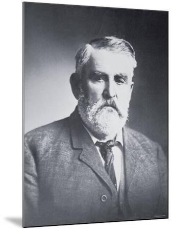 Charles Goodnight--Mounted Photographic Print