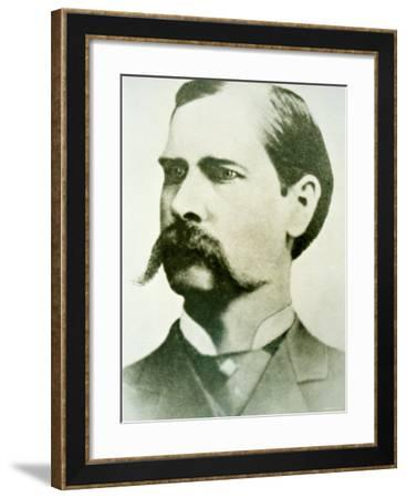 Wyatt Earp--Framed Photographic Print