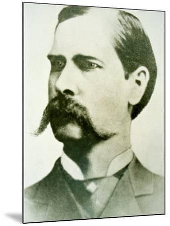 Wyatt Earp--Mounted Photographic Print