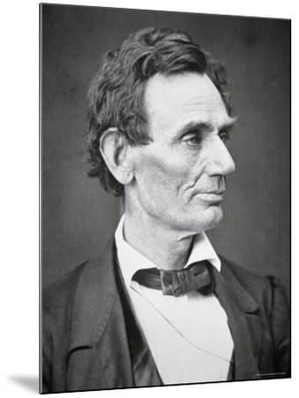 Abraham Lincoln-Alexander Hesler-Mounted Premium Photographic Print