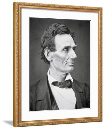 Abraham Lincoln-Alexander Hesler-Framed Photographic Print