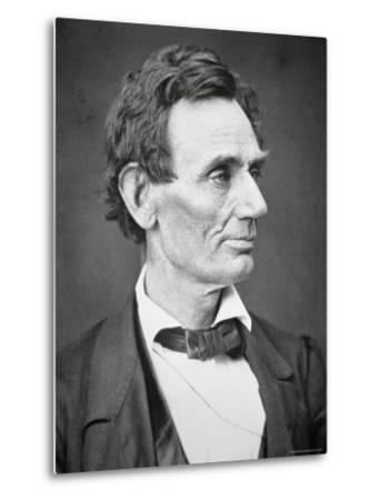 Abraham Lincoln-Alexander Hesler-Metal Print