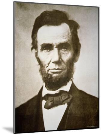 Abraham Lincoln-Alexander Gardner-Mounted Photographic Print
