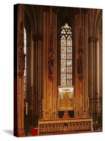 High Altar, Cologne Cathedral--Stretched Canvas Print