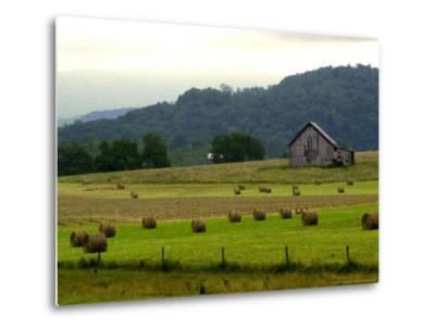 Landscapes Along the Farm Heritage Road-Jon C. Hancock-Metal Print