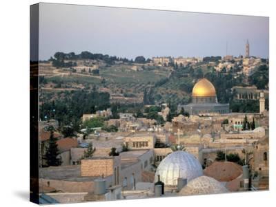 Old City, Jerusalem, Israel-Nik Wheeler-Stretched Canvas Print