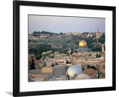Old City, Jerusalem, Israel-Nik Wheeler-Framed Photographic Print