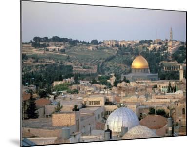 Old City, Jerusalem, Israel-Nik Wheeler-Mounted Photographic Print