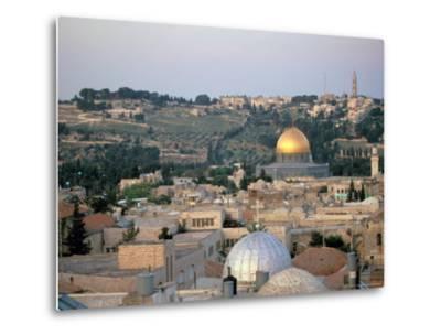 Old City, Jerusalem, Israel-Nik Wheeler-Metal Print