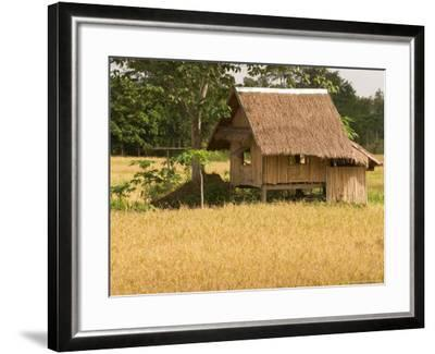 Hut in the Tambon Nong Hin Valley, Thailand-Gavriel Jecan-Framed Photographic Print