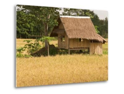 Hut in the Tambon Nong Hin Valley, Thailand-Gavriel Jecan-Metal Print