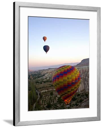 Balloon Ride over Cappadocia, Turkey-Joe Restuccia III-Framed Photographic Print