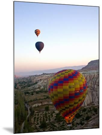 Balloon Ride over Cappadocia, Turkey-Joe Restuccia III-Mounted Photographic Print