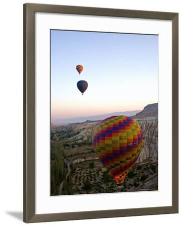 Balloon Ride over Cappadocia, Turkey-Joe Restuccia III-Framed Photographic Print