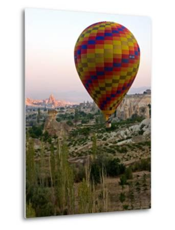 Balloon Ride over Cappadocia, Turkey-Joe Restuccia III-Metal Print