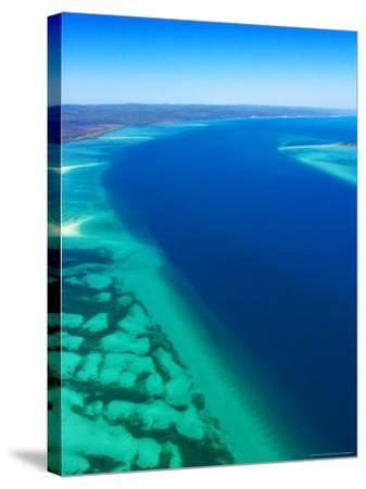 Great Sandy Straits and Fraser Island , Queensland, Australia-David Wall-Stretched Canvas Print